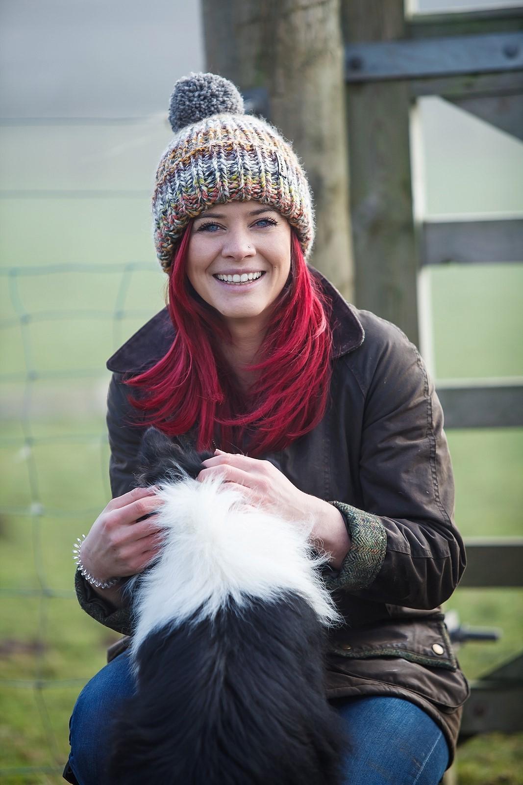Hannah Jackson & Dog
